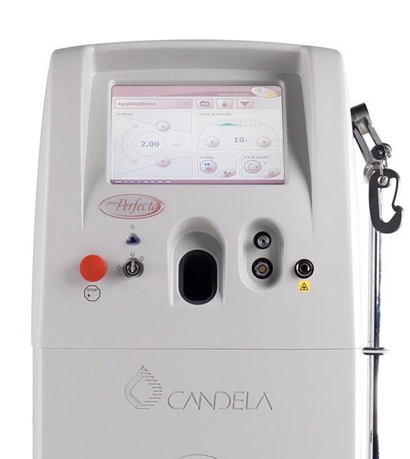 Laser colorant pulsé pour le traitement des lésions vasculaires.
