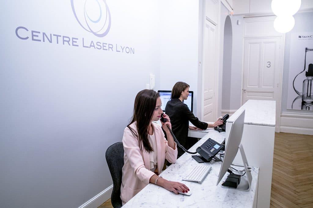 Accueil du Centre Laser : institut d'épilation laser à Lyon Foch 6° arrondissement